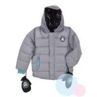 Zimná bunda a rukavice Star Wars , Velikost - 104 , Barva - Šedá