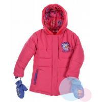 Zimná bunda a rukavice Paw Patrol , Velikost - 98 , Barva - Malinová