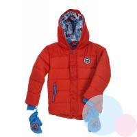 Zimná bunda a rukavice Paw Patrol , Velikost - 98 , Barva - Červená