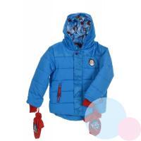 Bunda a rukavice Tlapková Patrola , Barva - Modrá , Velikost - 98