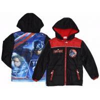 Zimná bunda Avengers , Velikost - 98 , Barva - Čierna