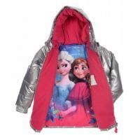 Zimná bunda Frozen , Velikost - 104 , Barva - Strieborná