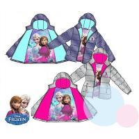 Zimná bunda Frozen Disney , Velikost - 104 , Barva - Fialová