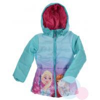 Zimná bunda Frozen , Velikost - 104 , Barva - Tyrkysová