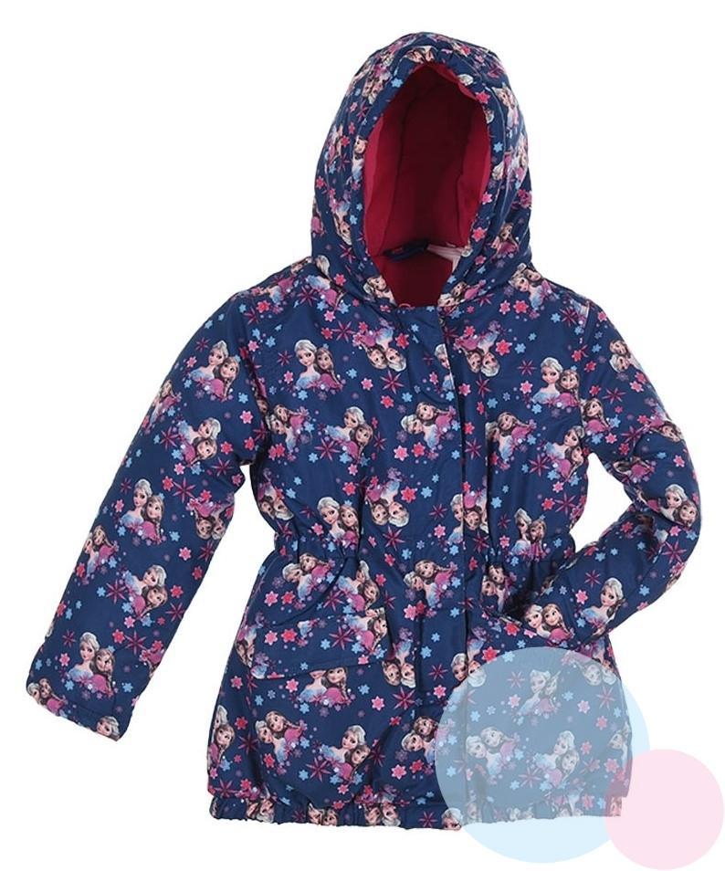 Zimná bunda Ľadové Kráľovstvo f76afb4f82d