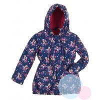 Zimná bunda Ľadové Kráľovstvo , Barva - Tmavo modrá , Velikost - 116