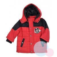 Zimná bunda Mickey , Velikost - 68 , Barva - Červená