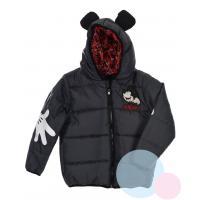 Zimná bunda Mickey , Velikost - 128 , Barva - Antracitová
