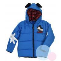 Zimná bunda Mickey , Velikost - 128 , Barva - Modrá