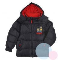 Zimná bunda Mimoni , Velikost - 98 , Barva - Antracitová