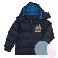 Zimná bunda Mimoni , Velikost - 104 , Barva - Tmavo modrá
