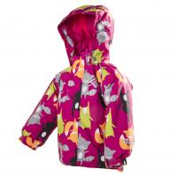 Zimná bunda nepremokavá , Velikost - 80 , Barva - Tmavo ružová