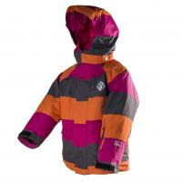 Zimná bunda nepremokavá , Velikost - 98 , Barva - Oranžová