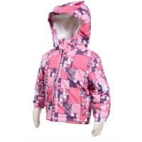 Zimná bunda pre najmenšie deti , Velikost - 86 , Barva - Ružová