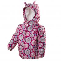 Zimná bunda s kožušinkou , Velikost - 80 , Barva - Ružová