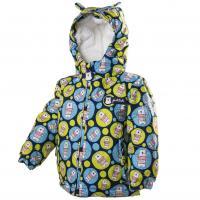 Zimná bunda s kožušinkou , Velikost - 80 , Barva - Modrá