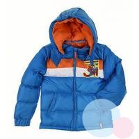 Zimná bunda Spiderman , Velikost - 98 , Barva - Světlo modrá