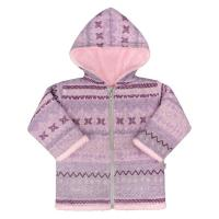 Detské bundy a kabáty pre deti - Barva Růžová c3b167a88bf