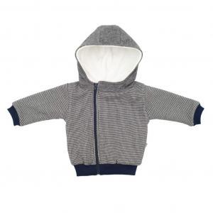 Kabátek s kapucí Baby Service Retro , Barva - Šedá , Velikost - 56