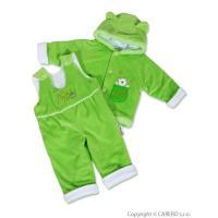 Zimná súprava medvedík , Barva - Zelená , Velikost - 56