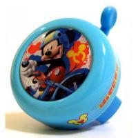 Zvonček na bicykel Mickey Mouse kovový , Barva - Modrá