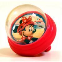 Zvonček na bicykel Minnie Mouse s membránou , Barva - Červená